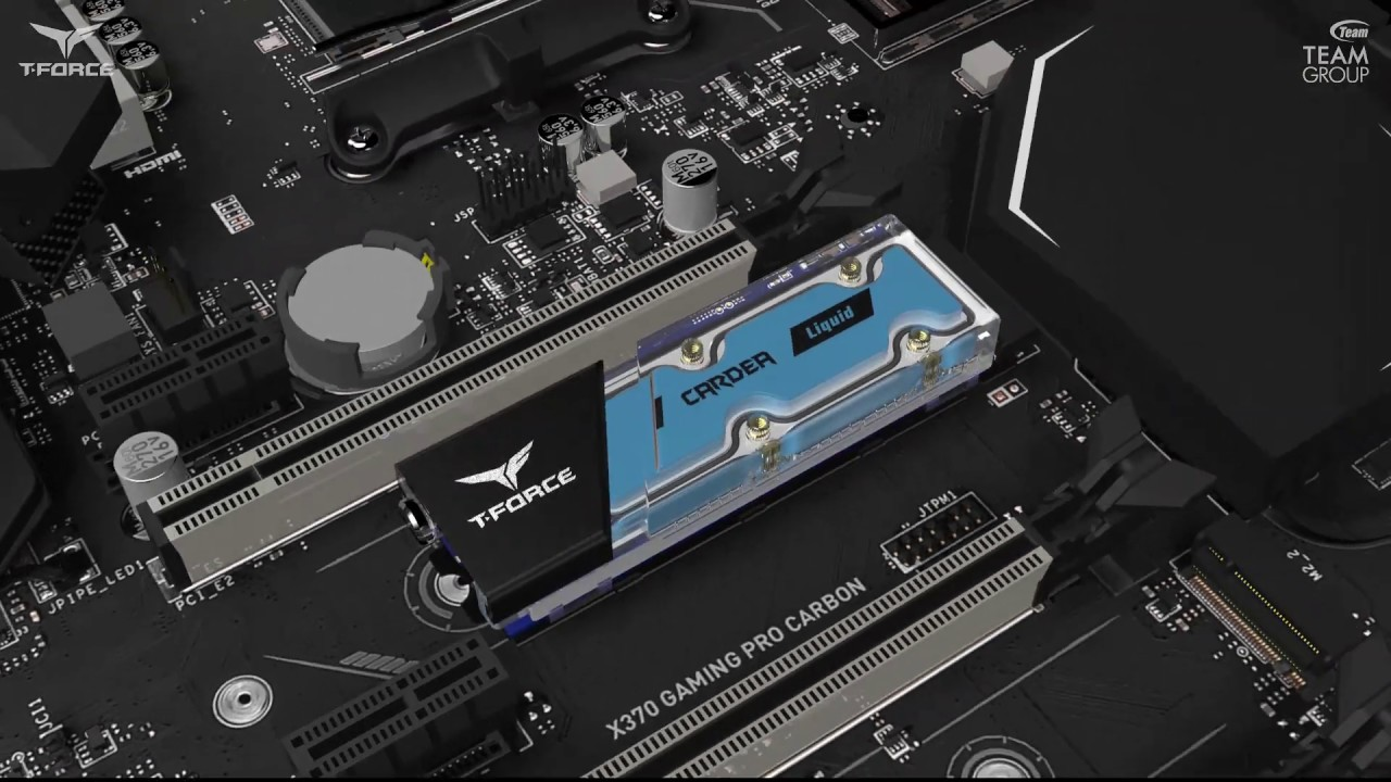 Teamgroup Taiwan Launches The First Innovative Solid-State Drive With Water Cooling And The T-Force Captain RBG Controller