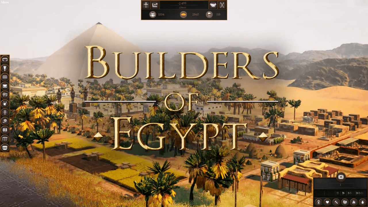 Builders Of Egypt, Game In The Style Of The Old Pharaoh Games, Gets Official Trailer