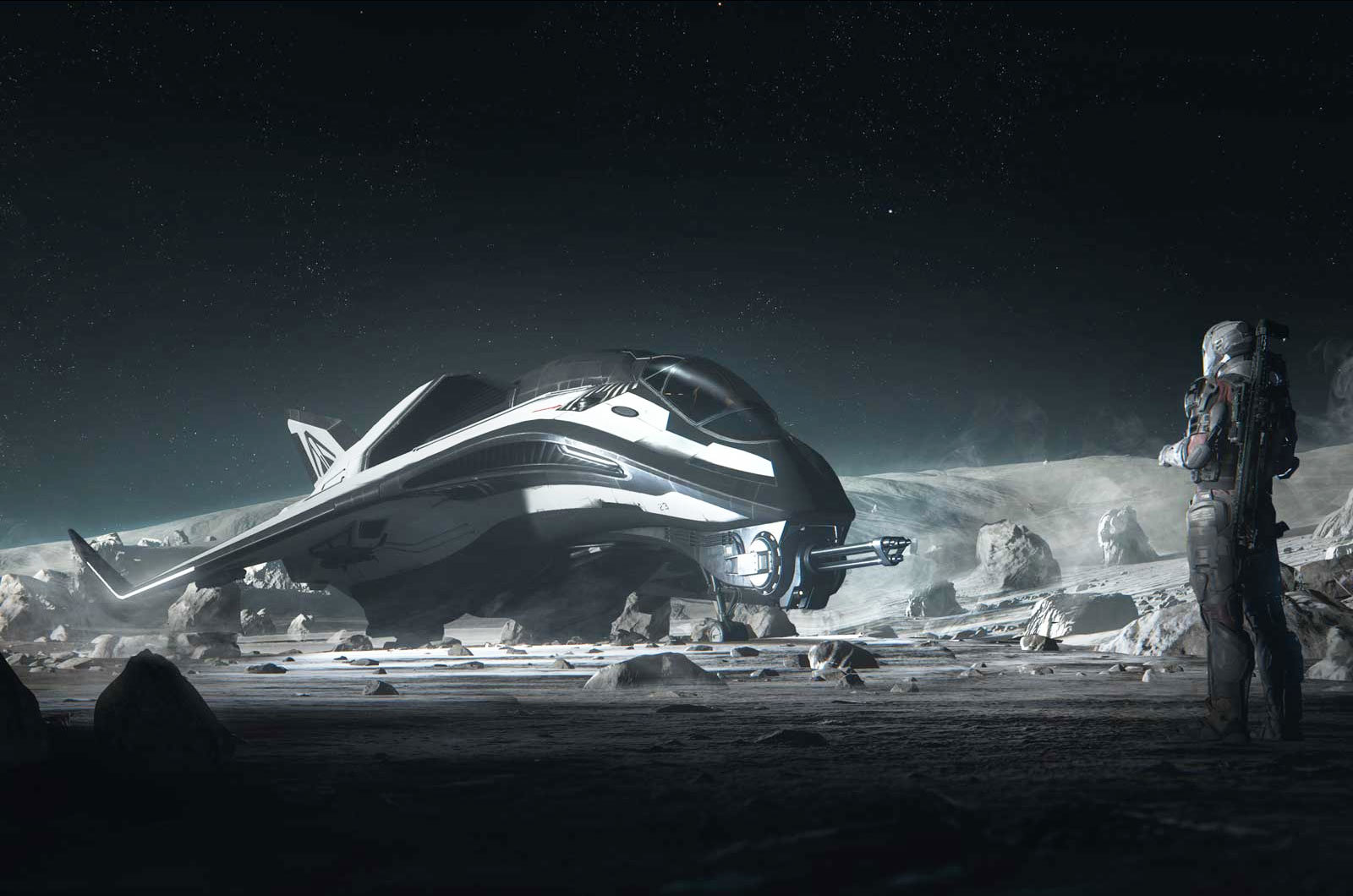 Star Citizen Alpha Just Released Their 3.6 Update Bringing Tons Of New Content To The Game