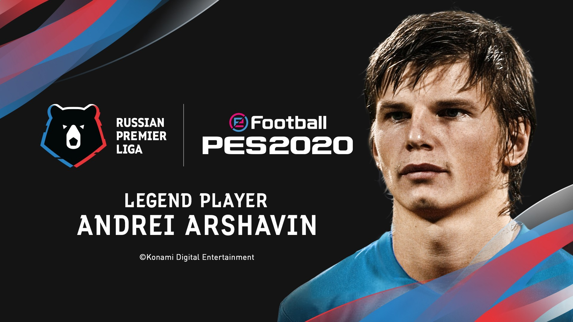 Konami Reveals That Andrey Arshavin Will Feature In The eFootball PES 2020 Roster Of Legends