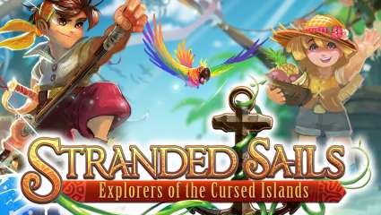 Stranded Sails Explorers Of The Cursed Islands Will Let You Explore, Farm, And Craft Your Way Across The Ocean Come October