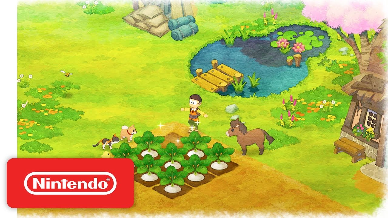 Doraemon Story Of Seasons Gives Fans An Early Peek With A Free Switch Demo