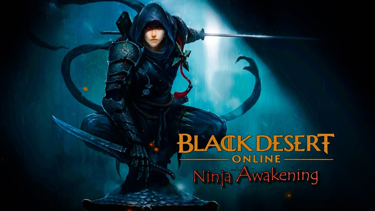 Black Desert Content Update Brings Ninjas Into Their Fantasy World, Time To Awaken Your Inner Ninja Abilities