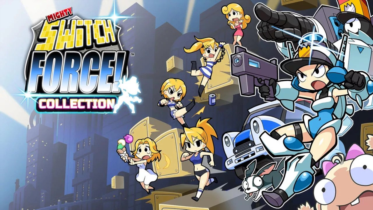 Mighty Switch Force Serves Up Justice This Summer In A Grand Collection