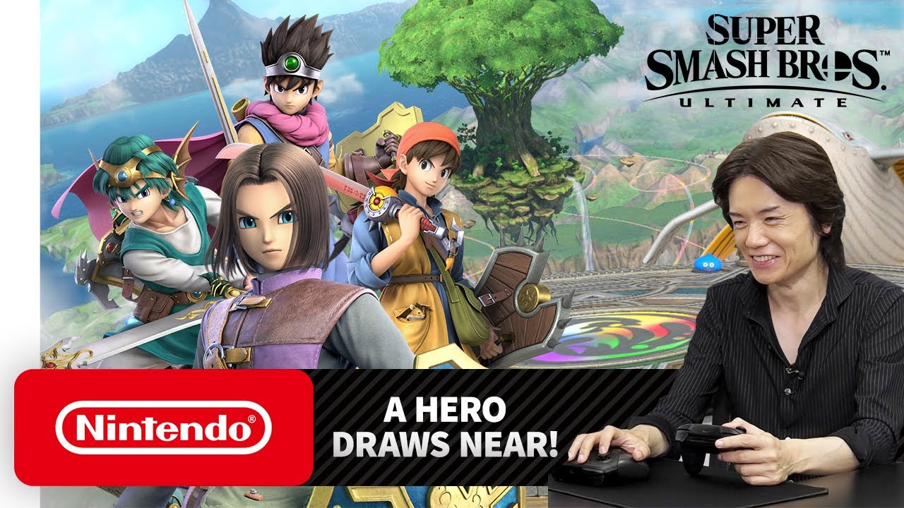 A Hero Rises, Fires, And Shocks This July In Super Smash Bros. Ultimate