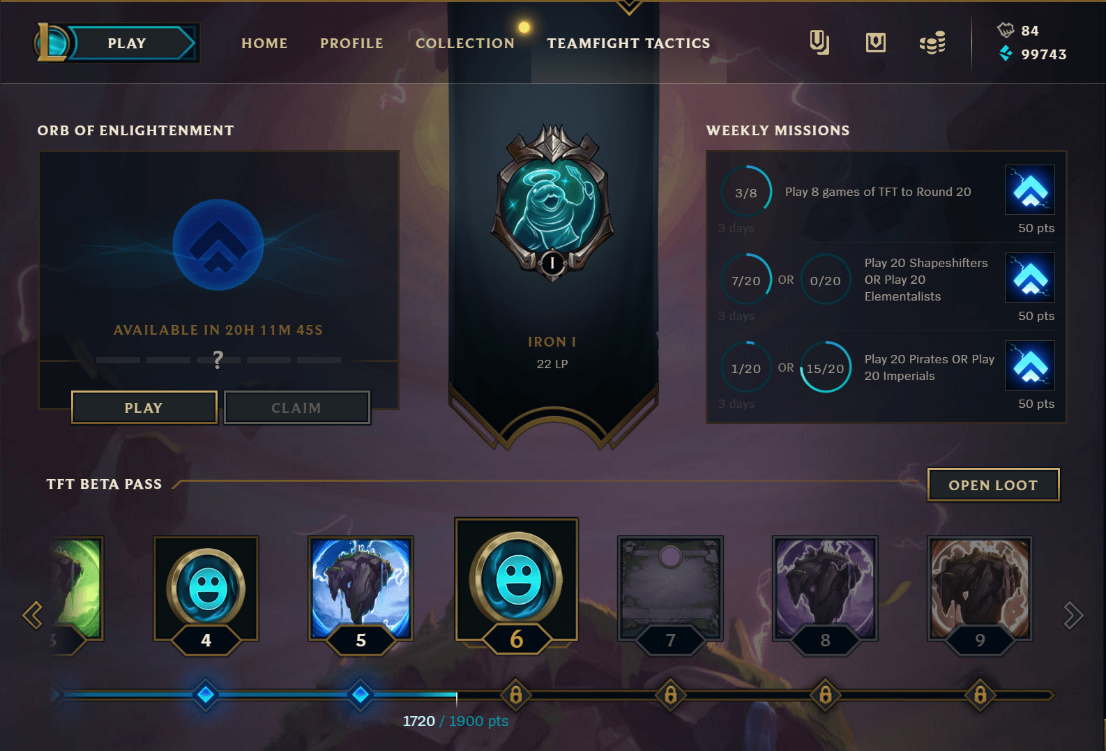 Last Chance To Complete First Chapter Of Teamfight Tactics Beta Pass, Second Chapter Coming Soon