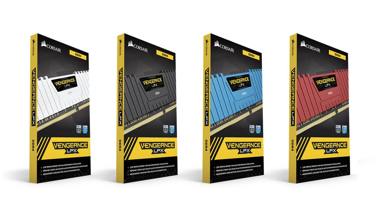 Corsair Buffs Lineup For 32GB DDR4 DIMMS Dedicated For Intel 300-Series And AMD 400-500 Series