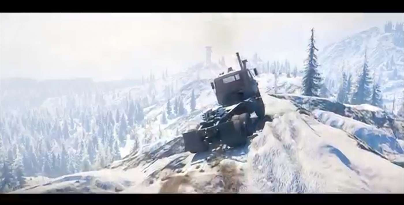 SnowRunner Just Received A New Trailer That Features Dangerous Off-Road Trucking In Russia