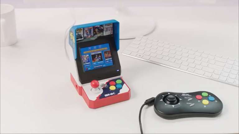The Popular Arcade System Neo Geo Mini Now Is Only $100; Includes Two Controllers