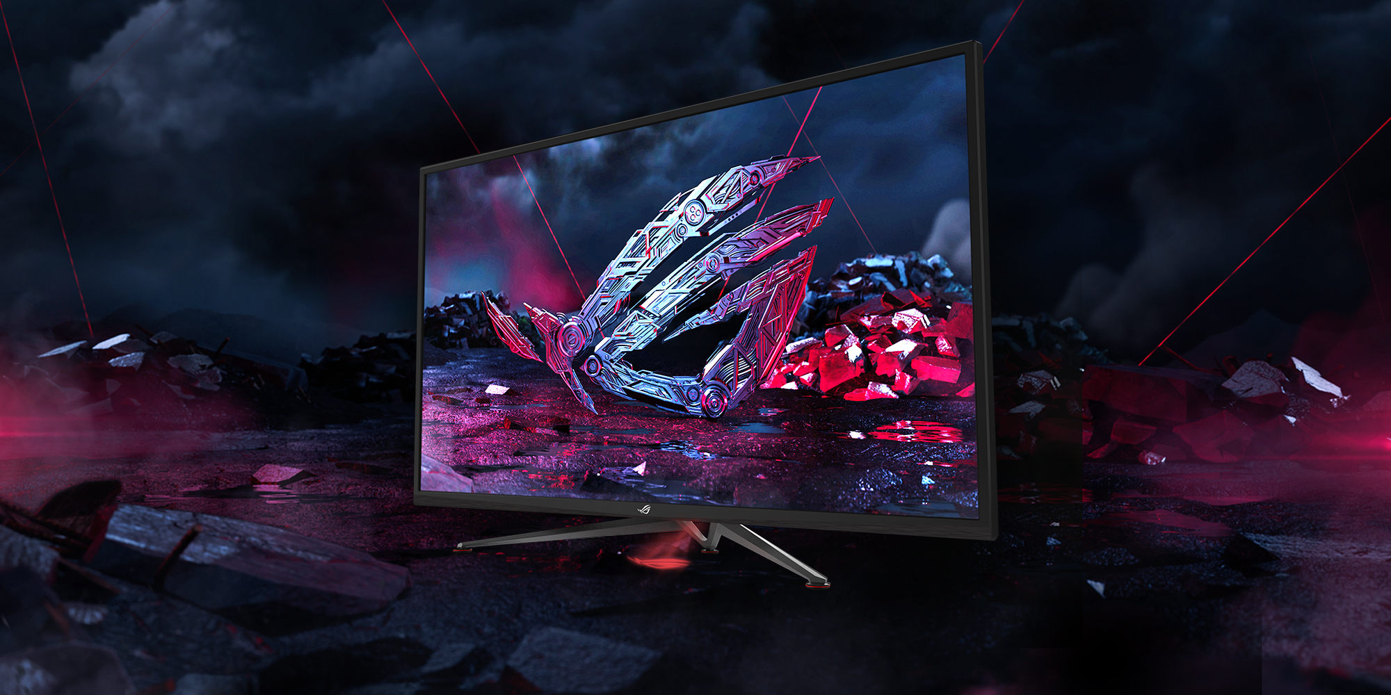 Asus RoG Strix XG438Q, The World's Biggest And Fastest 4K FreeSync 2 HDR Gaming Monitor Arrives In UK
