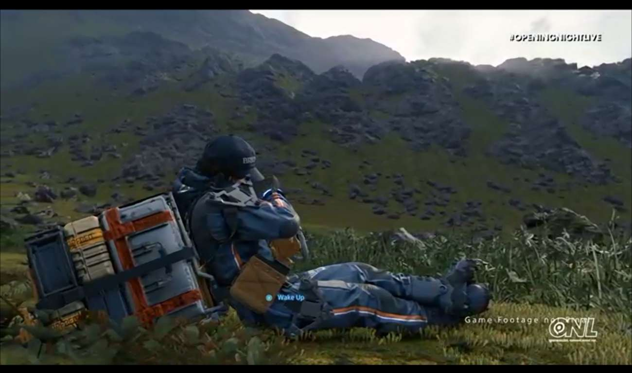 Hideo Kojima Just Put Out New Gameplay Footage For Death Stranding; Showcases Weird And Intriguing Elements