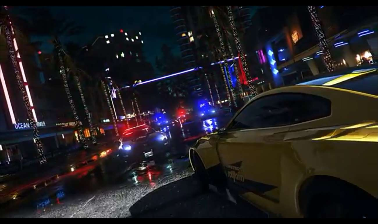 A Reveal Trailer Just Surfaced For Need For Speed Heat Cops Are