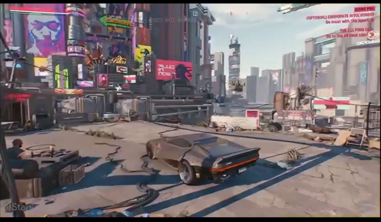 New Screenshots Have Come Out Of Cyberpunk 2077 Showcasing Some Of The Cars And Combat