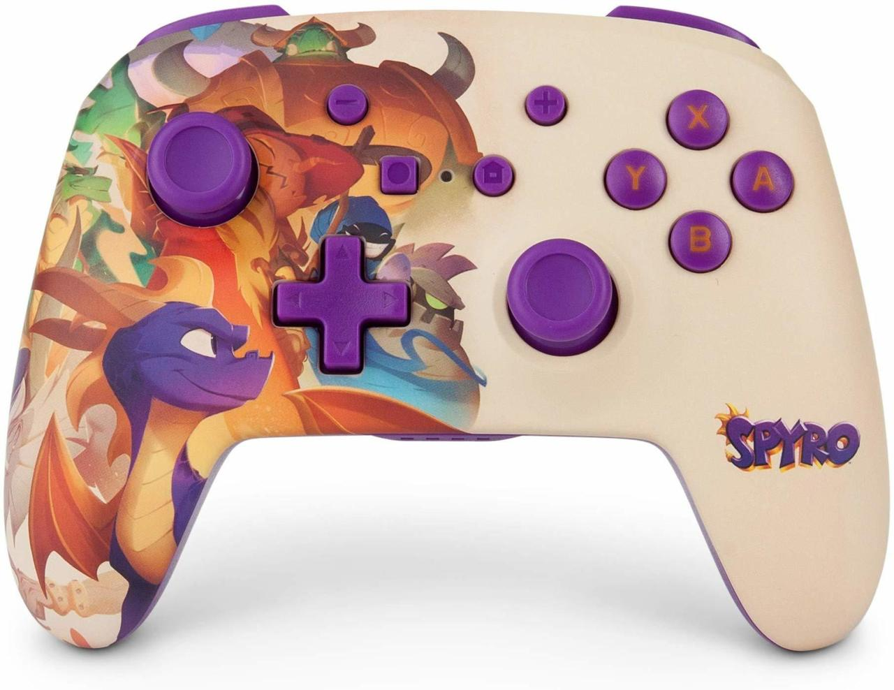 Brand New Sypro Nintendo Switch Pro Controller Coming Out Ahead Of Spyro Reignited Trilogy's Official Launch