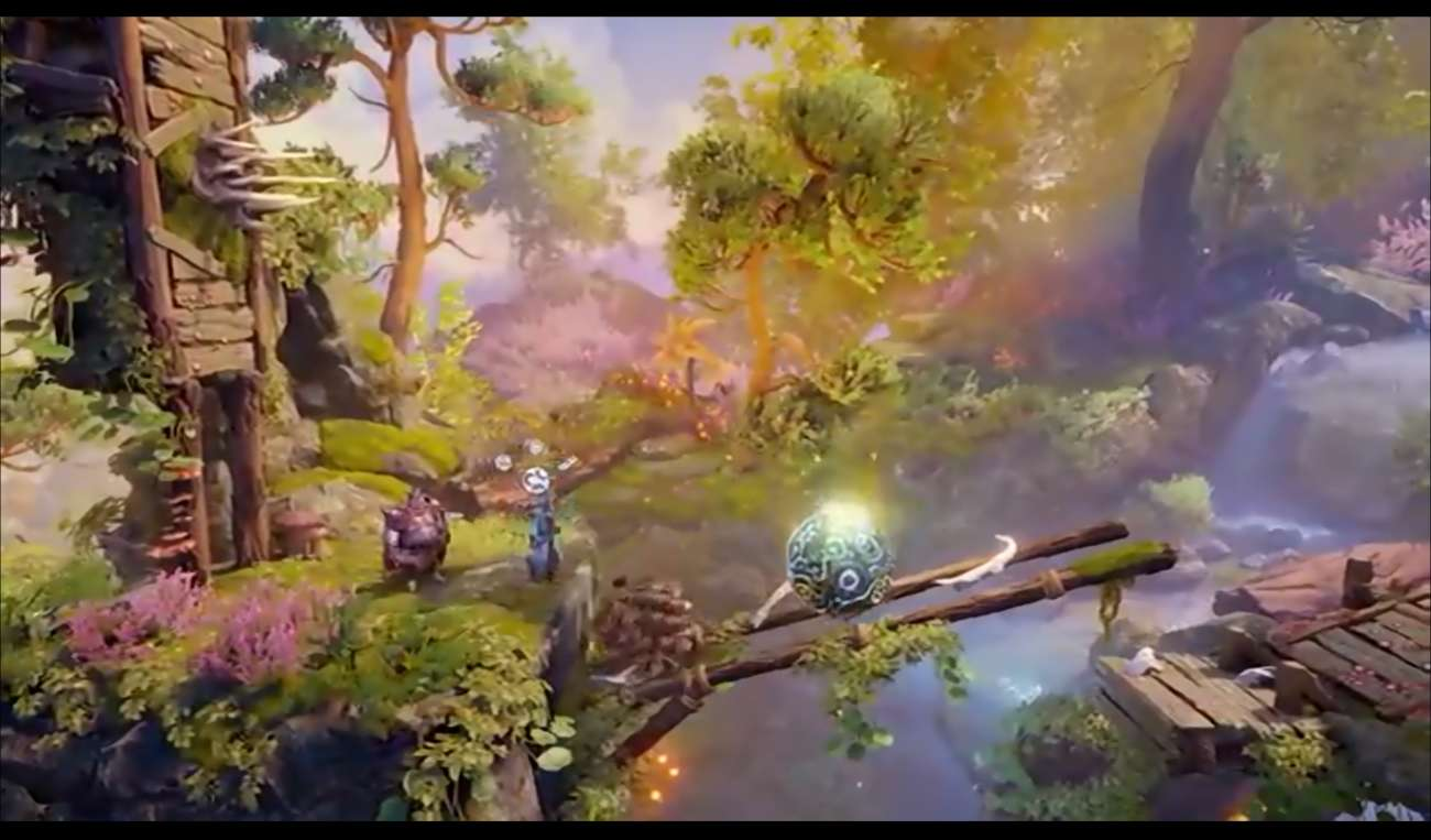 Trine 4: The Nightmare Prince Was Heavily Featured At PAX West; Shows Off Beautiful Levels And Fun Puzzles
