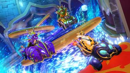 Spyro, Gnasty Gnorc, And Hunter All Come Speeding Into Crash Team Racing Nitro-Fueled In An All New Grand Prix
