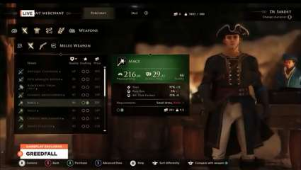 A New Gameplay Trailer Just Came Out For Greedfall; Looks To Be A Diverse RPG