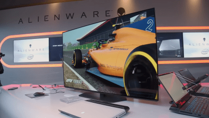 Dell Reveals The Price And Release Date For The Alienware AW5520QF 55-Inch OLED Gaming Monitor At Gamescom 2019