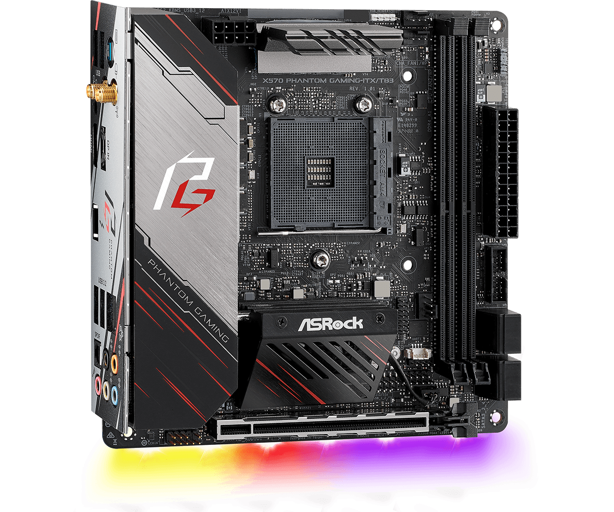 Mutant X570 Motherboard From Asrock Disables Default AM4 Cooling System In Favor Of Intel System