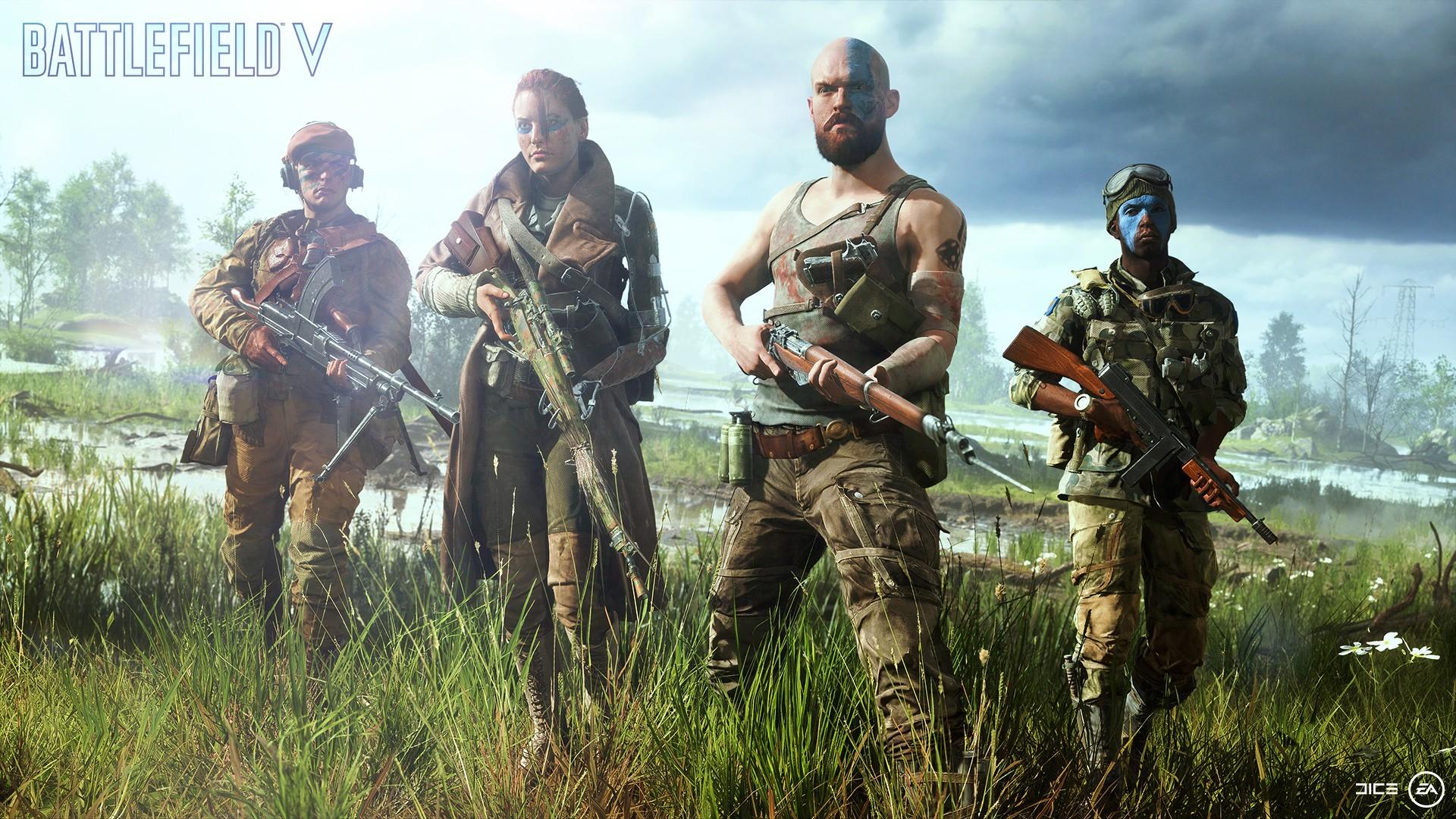 Battlefield V Letters From The Front: 5v5 Mode Canceled, Update 4.4, Al Sundan, Provence and Lofoten Islands, Update 4.6