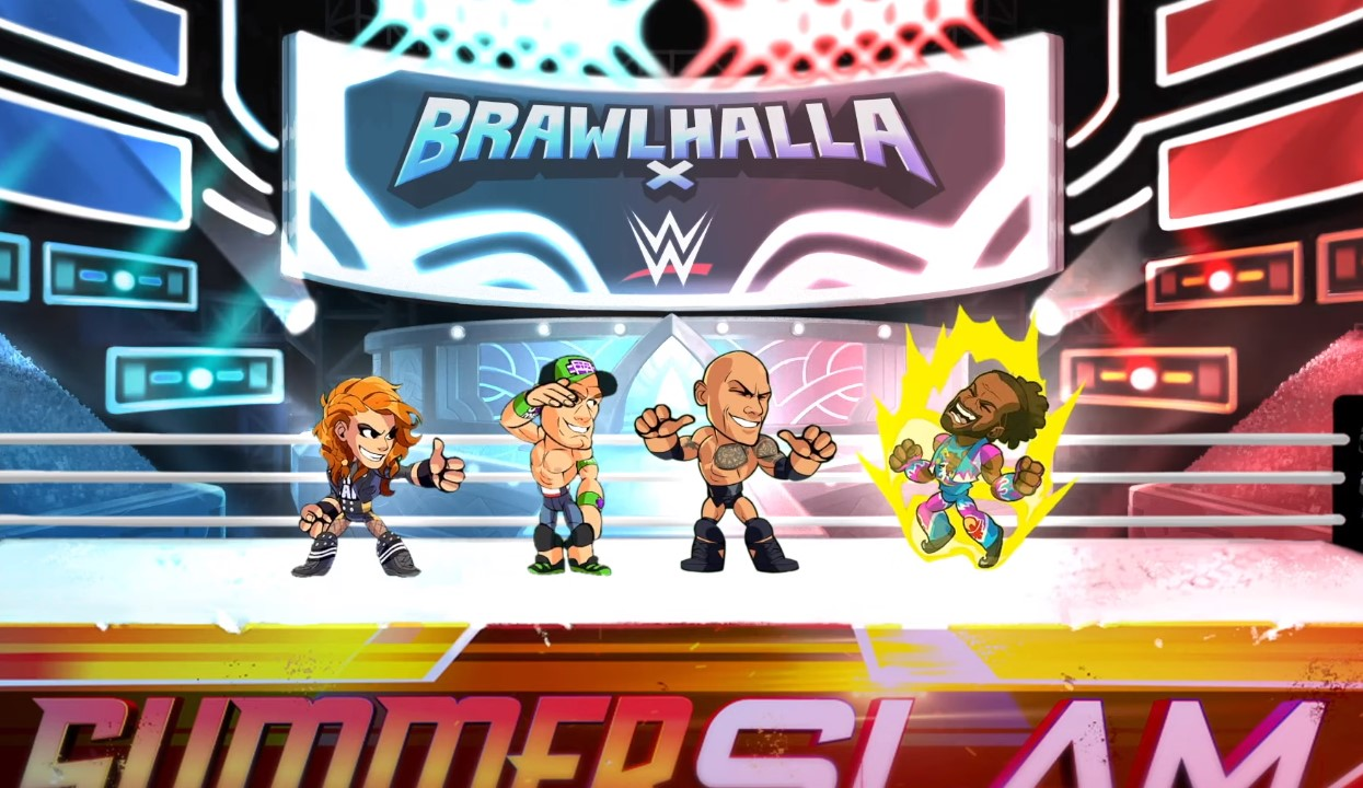 Brawlhalla Patch Update: WWE Superstars The Rock, John Cena, And Becky Lynch Join The Melee