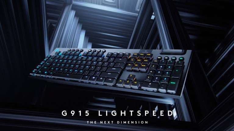 Logitech Brings The Guns With This Mechanical Gaming Keyboard That's Impossibly Thin