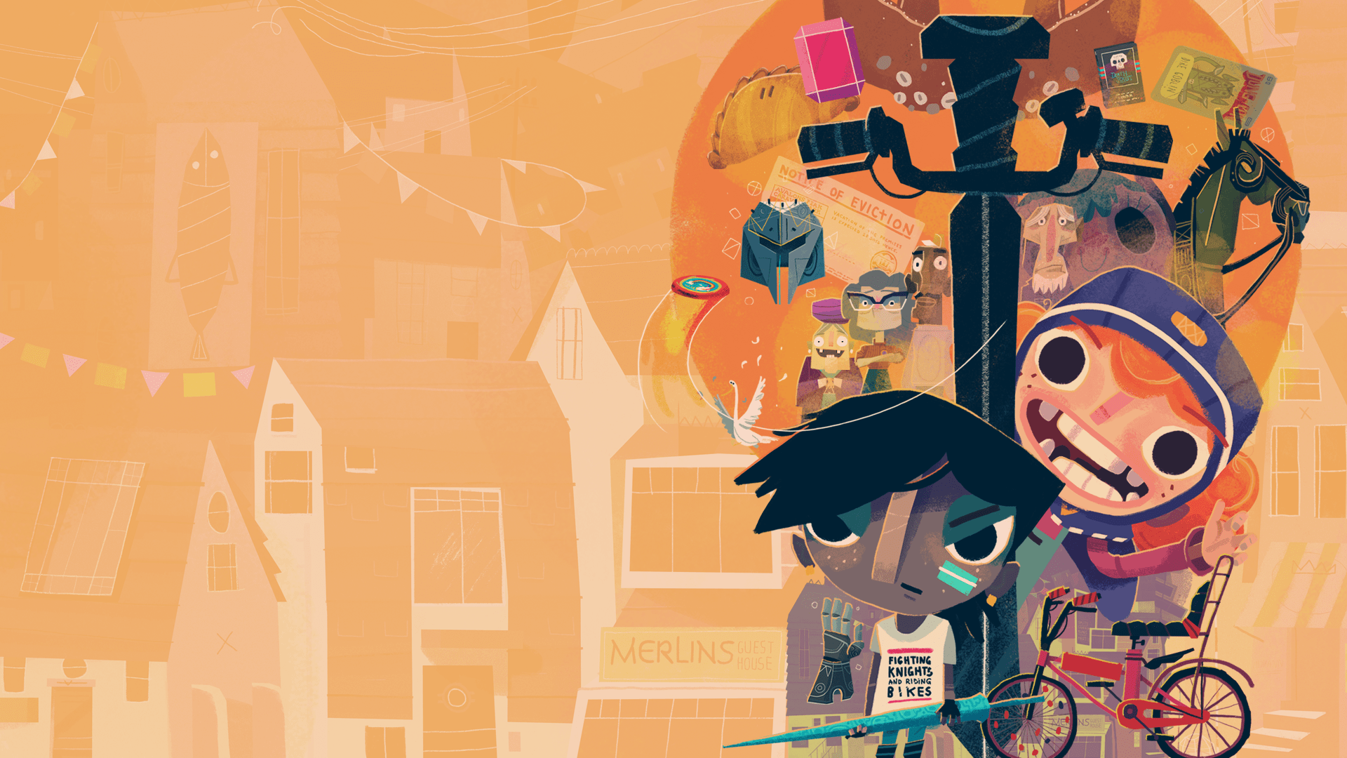Double Fine Presents Is Bringing Knights And Bikes to The Nintendo Switch On February 6th