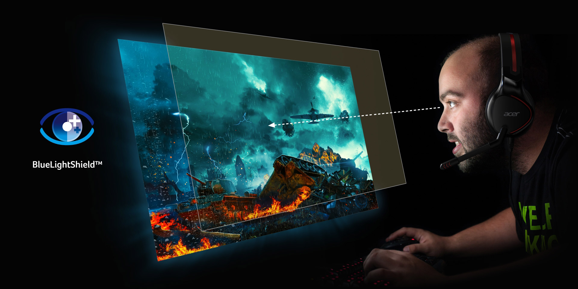 Acer Claims 'Overdrive Mode' For Its Nitro XF2 Monitor Can Hit 0.2ms Response Time