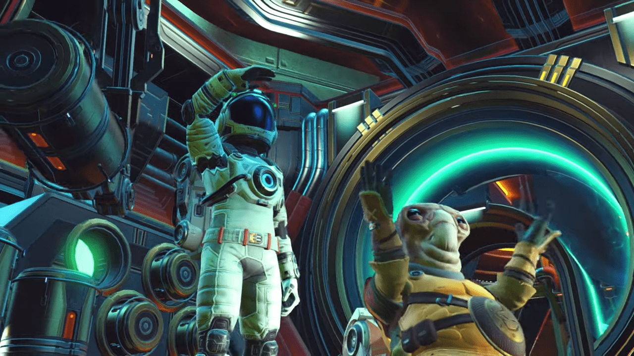 Forget VR: No Man's Sky BEYOND Lets You Ride Aliens