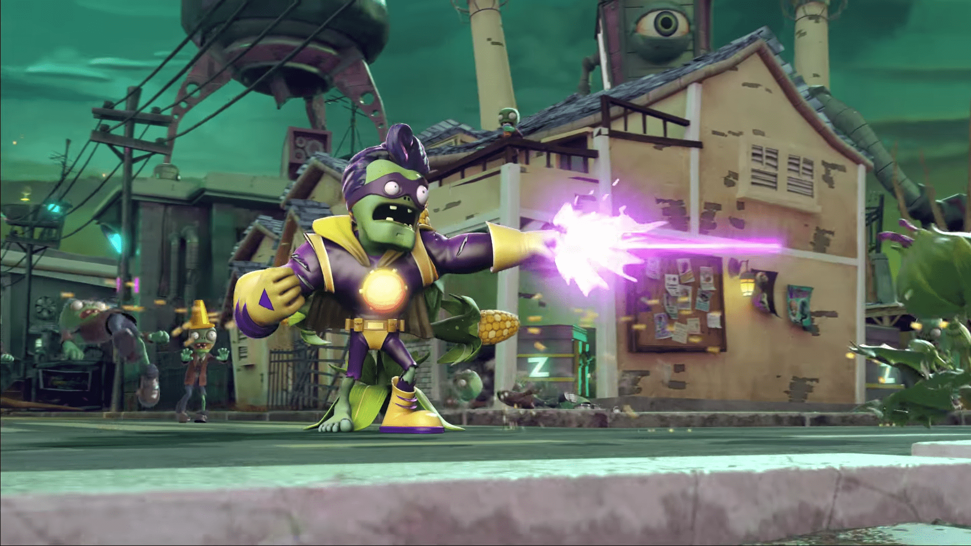 Next Plants Vs  Zombies Game Likely Named 'Battle For Neighborville