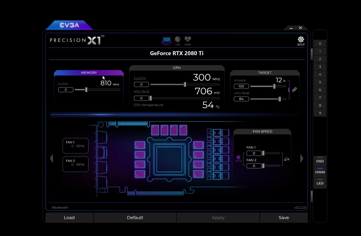 EVGA Precision X1 Update: Version 0.4.8.0 Adds Boost Lock On The Graphics Card
