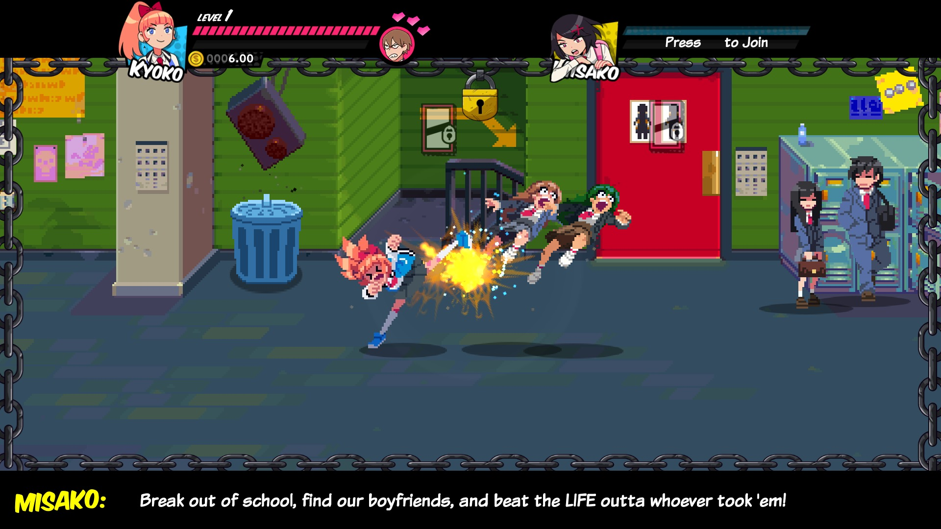 River City Girls Beats Down The Doors In Stylish, Old-Cool Glory