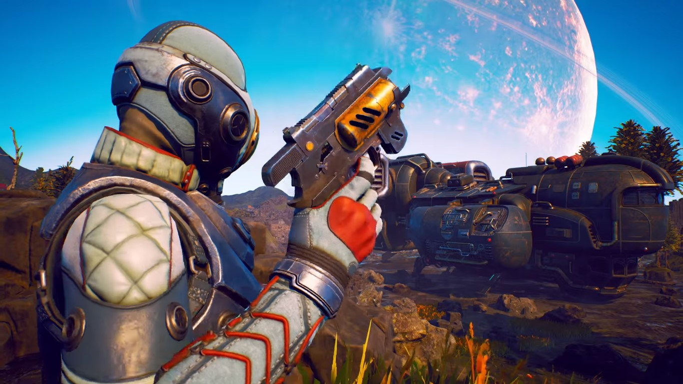 Is The Outer Worlds Story DLC Finally On The Way? Signs Point To Yes! The Signs Also Say Buy Adrena-Time!