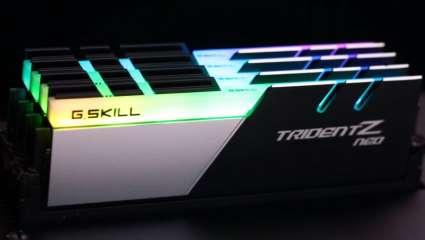 Computer Hardware Company G.Skill Showcase New Trident Z Neo RAM Fine-Tuned For The 3rd-Gen Ryzen Desktop CPU