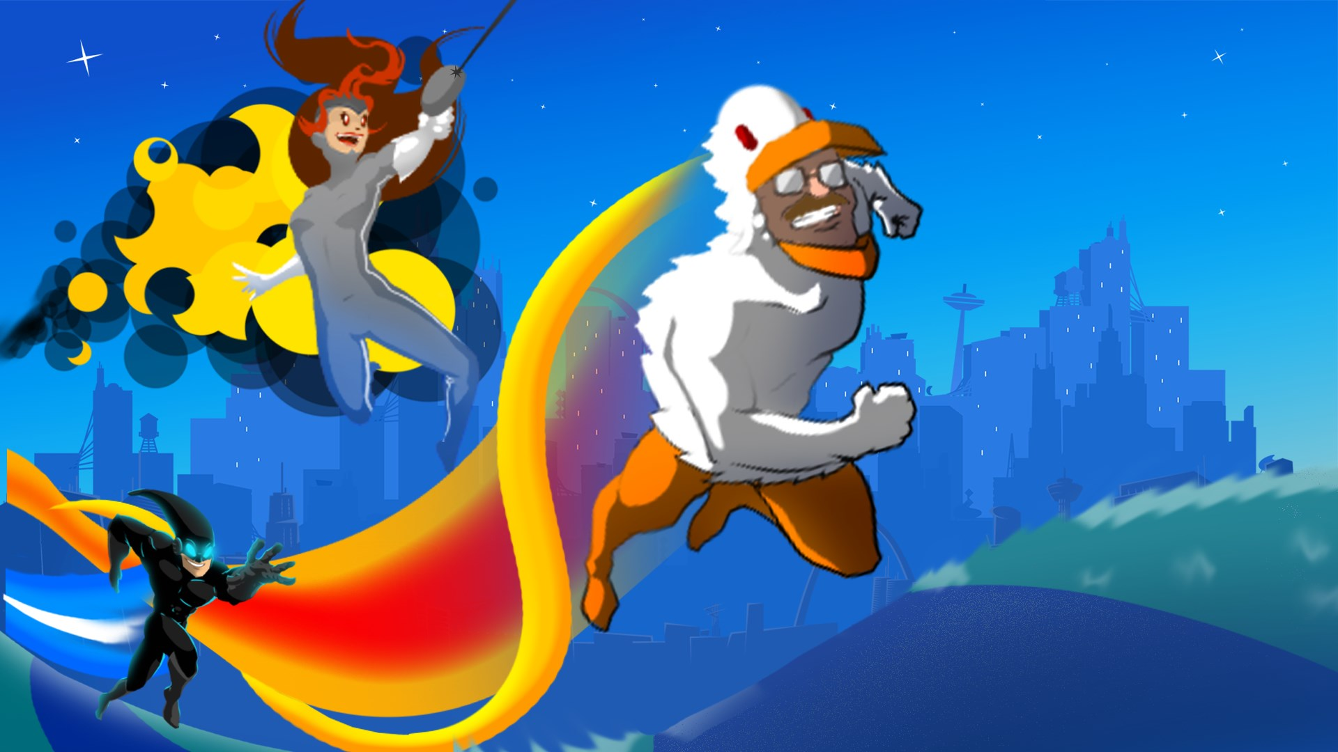 SpeedRunners Is Getting A Switch Port, Now You Can Take Fast Paced Super Hero Action On The Go