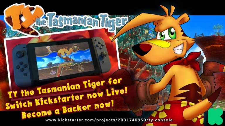Ty The Tasmanian Tiger Kickstarter Proves That Boomerangs Always Come Back