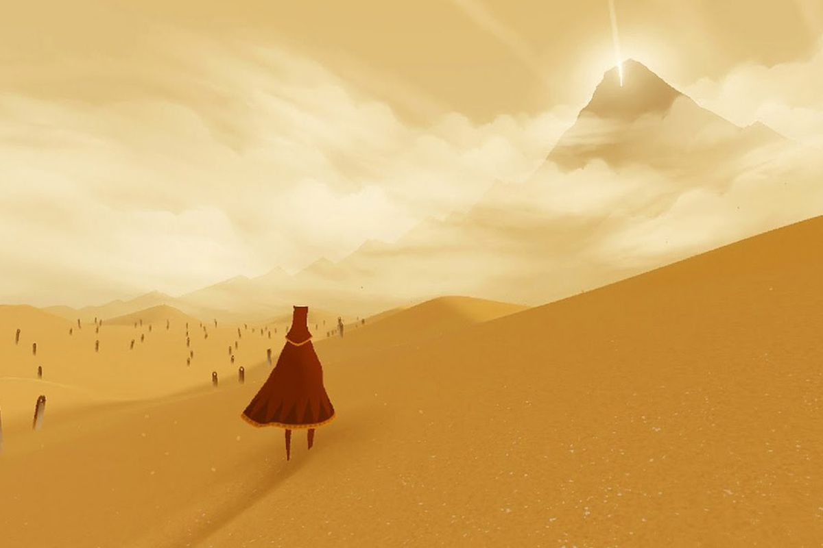 The Famous PlayStation Title Journey Is Now Available On Apple iOS Devices, A Desert Journey To The Top Of A Legendary Mountain On Your Phone