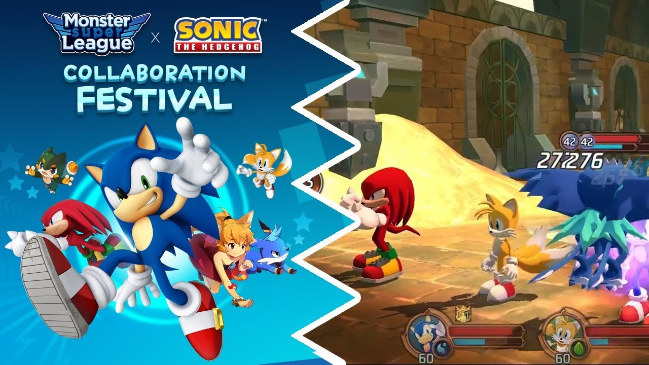 Sonic And Co. Burst Onto The Scene In A Monster Super League Collab