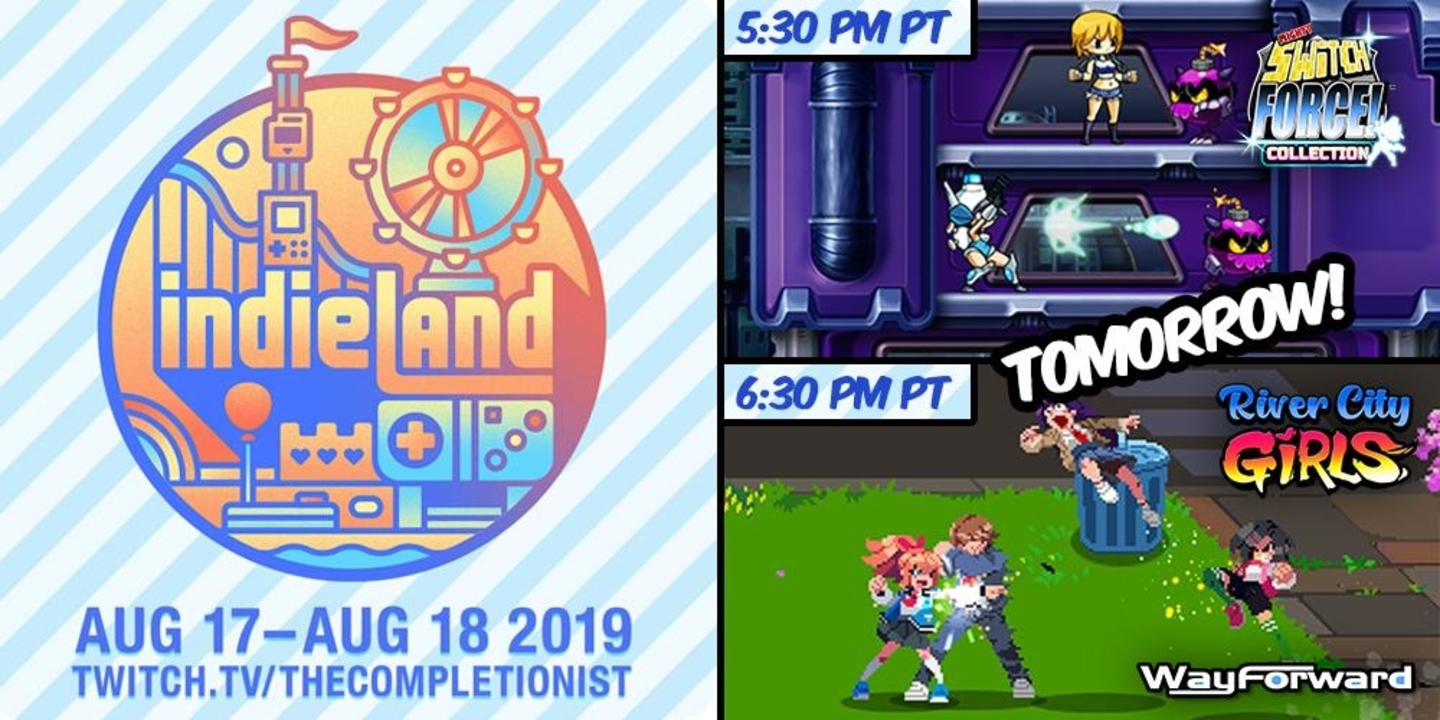 IndieLand Charity Stream To Feature Mighty Switch Force! Collection and River City Girls