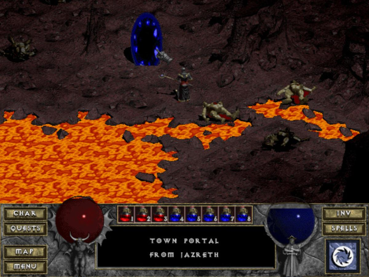 The Original Dungeon Crawler Diablo Is Now Available To Be Played In