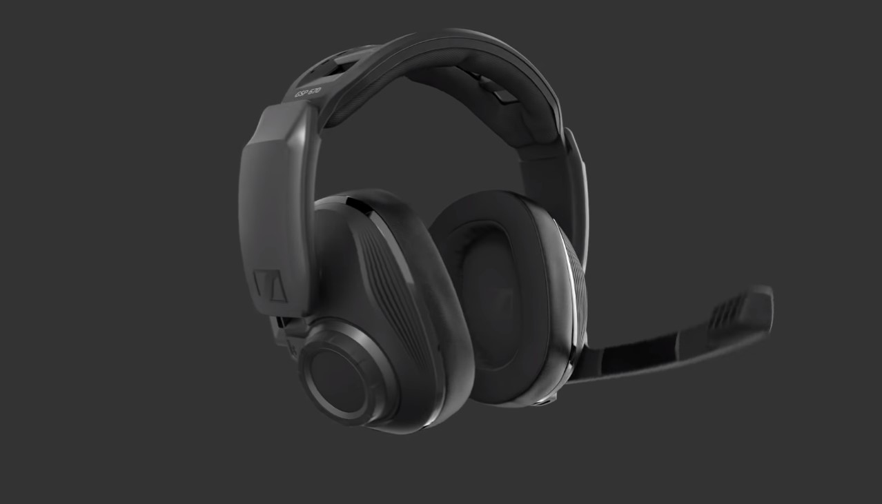 The New Sennheiser GSP 670 Gaming Headset Packs Itself With Premium Wireless Features