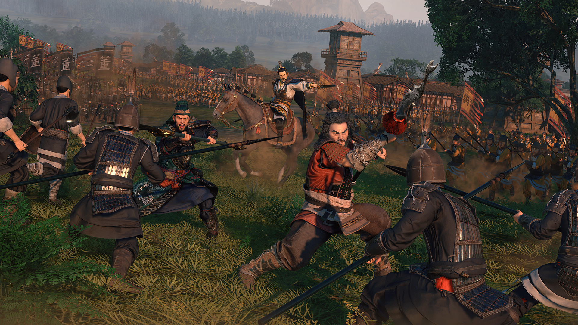 Total War: Three Kingdoms' Has Unveiled Their New Dynasty Mode, Fight Against A Massive Army With A Specialized Team Of Soldiers