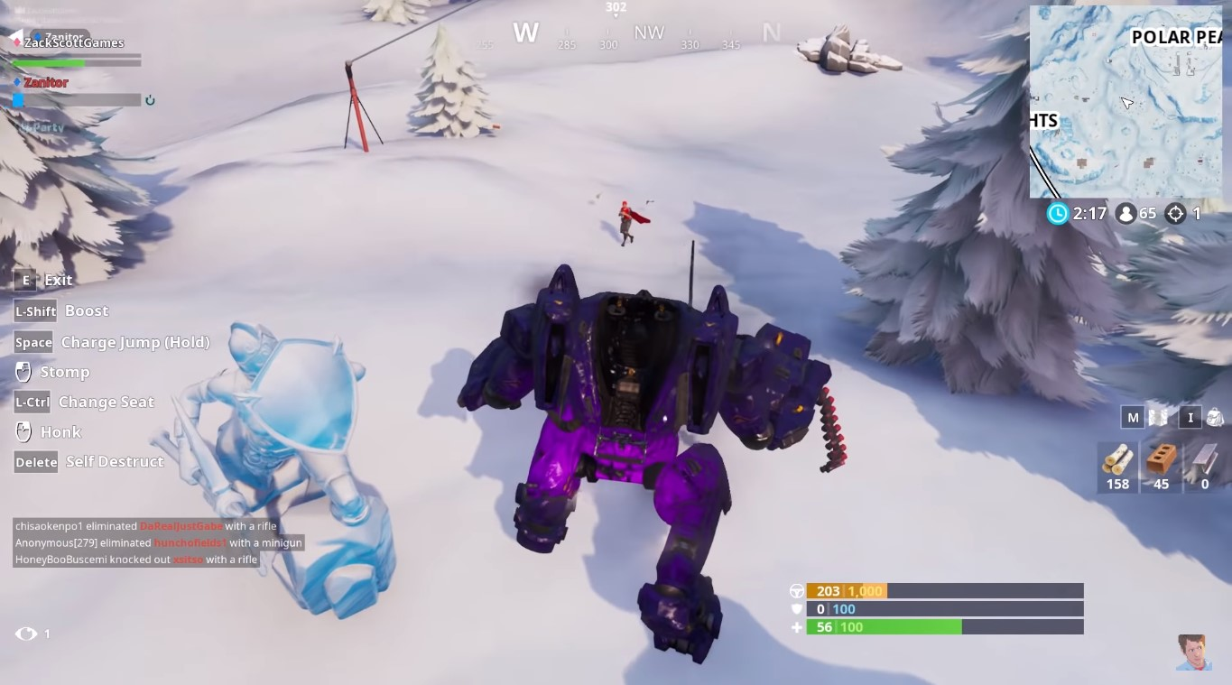 Brute Mech Experiment On Fortnite Apparently Ends; Giant Robots Explode On Contact