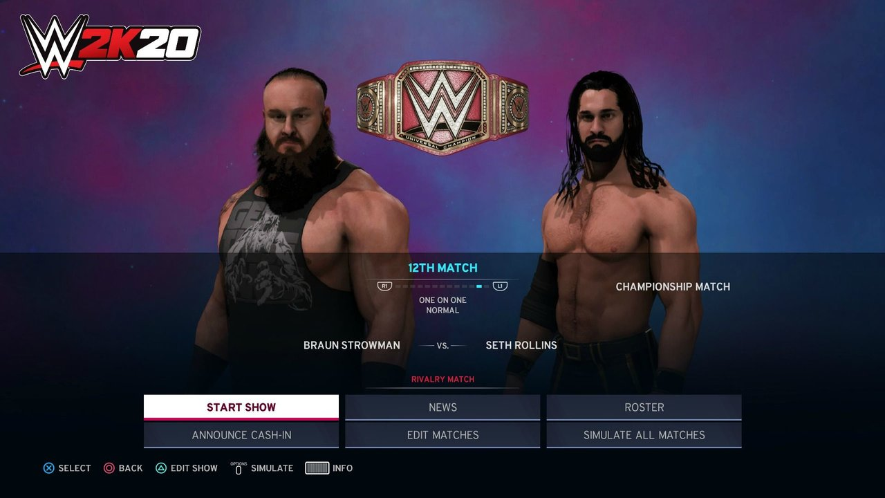 WWE 2K20 Universe Mode Details Revealed, Mode Getting A Few Significant Improvements