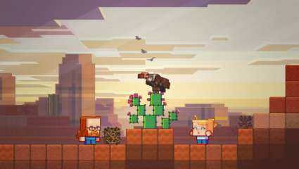 Vultures May Be Added To The Minecraft Biome Update Badlands, Which Drops Next Week