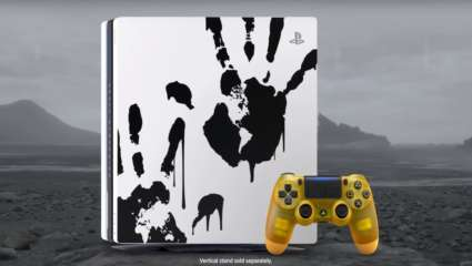 Death Stranding-Themed PS4 Pro Gear Is Coming Out In Honor Of The Game's Release