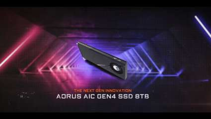 Gigabyte's Aorus Gen4 AIC Delivers Up To 15,000MB/S With 8TB Storage Capacity