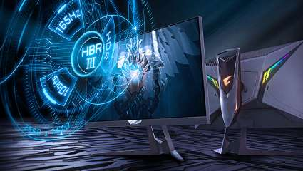 The Gigabyte Aorus FI27Q-P Is The World's First High Bit Rate 3 Tactical Gaming Monitor