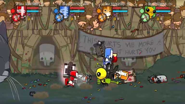The Behemoth Confirms The Remastered Version Of Castle Crashers Is Heading To The PS4