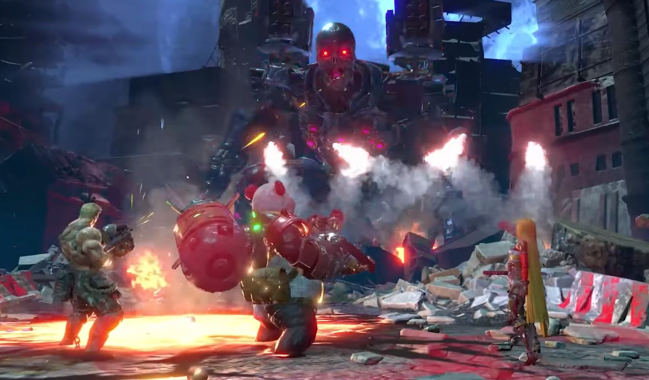 Konami Teases First Look On The Local Co-Op Gameplay For Upcoming Contra: Rogue Corps